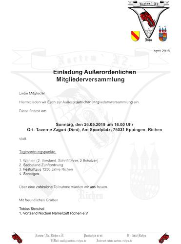 Einladung Außerordenliche MV 19_To.indd